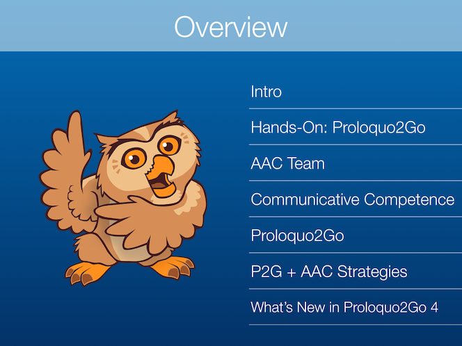 Implementation of Proloquo2Go for Students with AAC Needs - Slideshow