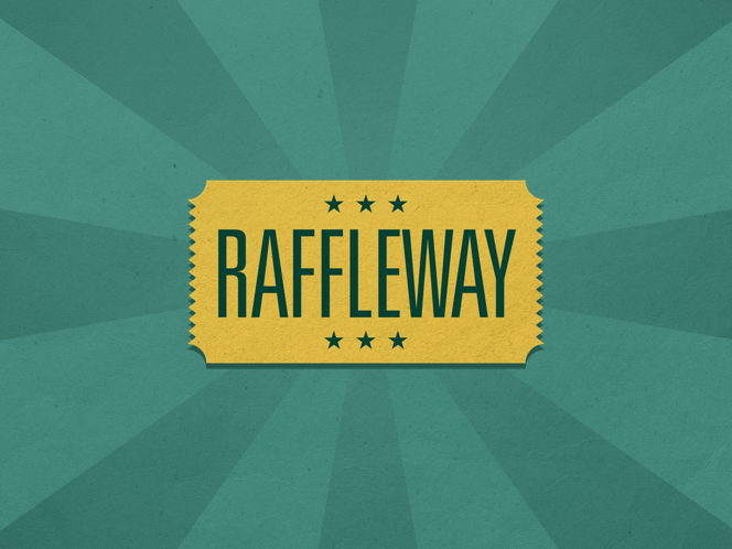 Raffleway is available for iPhone, iPad, and Apple Watch