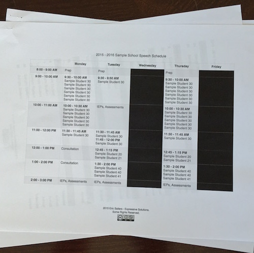Beginning-Of-The-School-Year SLP Organization Templates