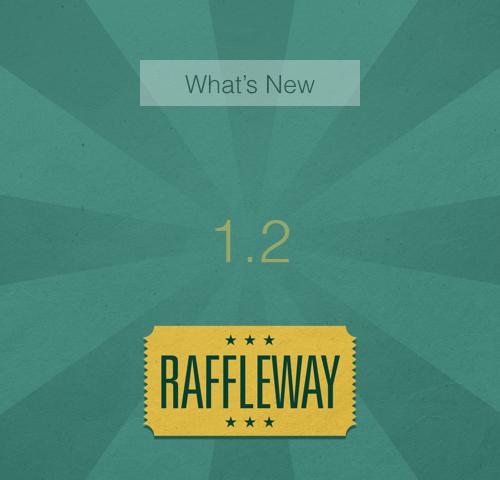 What's New in Raffleway 1.2