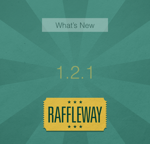 What's New in Raffleway 1.2.1